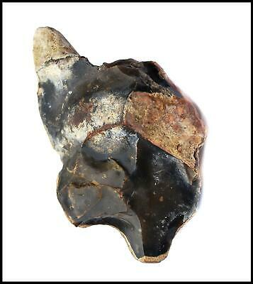 Paleolithic Achuelian early man hand axe British ancient tool primitive rock art