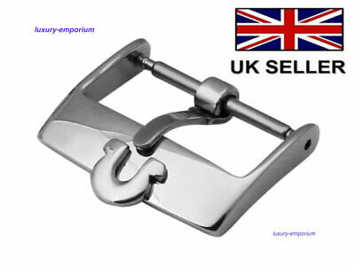 OMEGA silver stainless steel replacement watch strap buckle 18mm CLEARANCE SALE