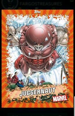 DIGITAL CARD Topps Marvel Collect 2020 Juggernaut Week 1 Orange Base