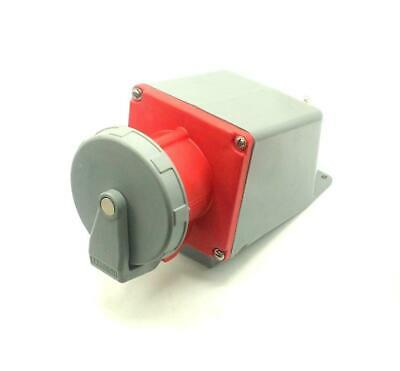 Hubbell  5100R7W  3-Phase Pin & Sleeve Receptacle 100 Amp 277/480 30 HP