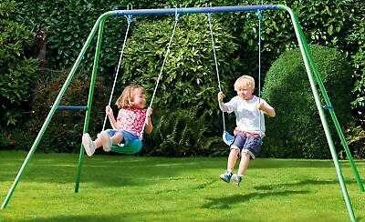 Chad Valley Double Swing Set. Ages 3+