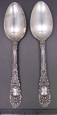 Mayfair Engraved by Dominick /& Haff Sterling Silver Pea Spoon 8