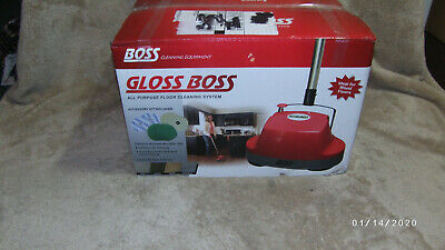 Gloss Boss Mini Polisher & Scrubber Boss Cleaning Equipment