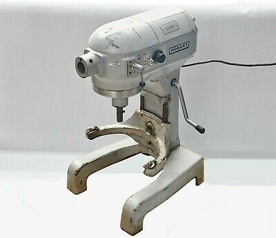 Hobart A-120T A120T Commercial Tabletop Baking Mixer 115V 1725RPM 1/2HP 8.2A