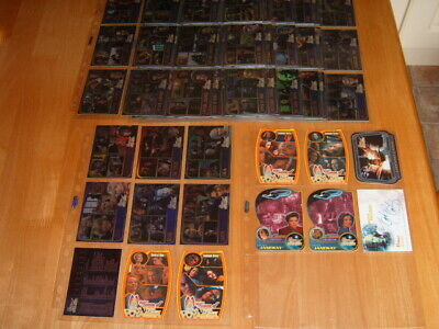Complete Basic set 70 Women Of Star Trek Voyager 2001 Trading Cards + chase card