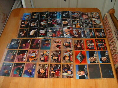 Skybox 1996 set Star Trek TNG Episode Collection  Season 5 + chase Trading Cards