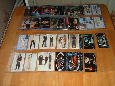 Skybox set 72 Star Trek Insurrection 1998 + chase Trading Cards Exc. condition