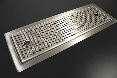 Stainless Steel Sit In Drip Tray With Perforated Insert