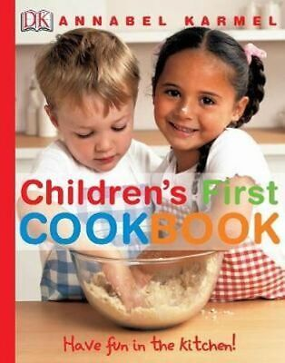 NEW Children's First Cookbook By Annabel Karmel Hardcover Free Shipping