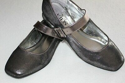 Shoes: Gorgeous metalic shoes by M&S , older girls UK 4