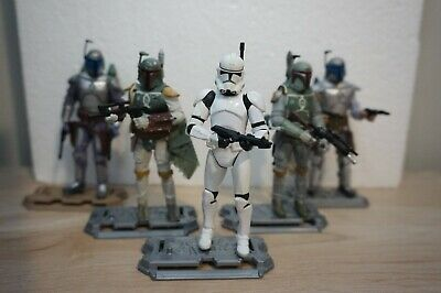 Hasbro Star Wars CLONE TROOPER PHASE 2 ARMOR 3.75 Loose Action Figure