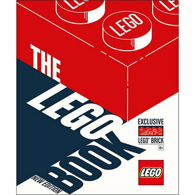 NEW Lego Book  New Edition By Daniel Lipkowitz Hardcover Free Shipping