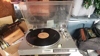 Vintage Sony PS-LX410 Direct Drive Fully Automatic Stereo Turntable System
