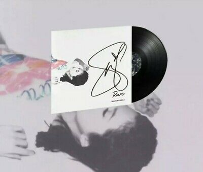 Selena Gomez Hand SIGNED 'Rare' VINYL Confirmed Preorder SOLD OUT