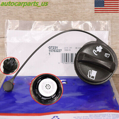 ACDELCO GT231 OEM Gas Cap with Strap GM #15763227  ***NEW UPDATED STOCK***