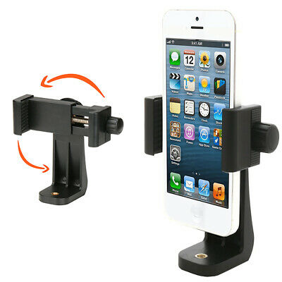 Universal Smartphone Tripod Adapter, Cell Phone Holder Mount Adapter for iPhone