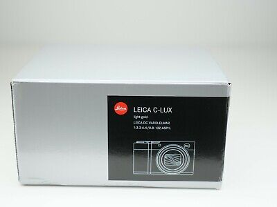 Leica C-Lux Light Gold, Boxed Brand New, 19125