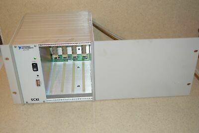 ^^ National Instruments Scxi-1000 4-Slot P/N 181445L-01 Chassis With Rackmount