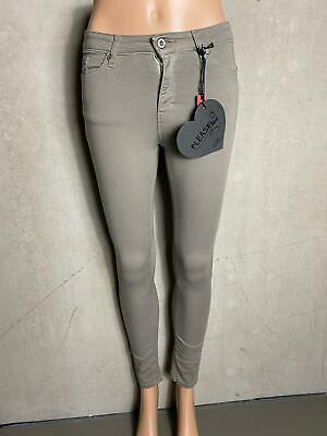 Please - Jeans Skinny P78L Superstretch Grigio - Nuovo - Tg. M 38 Medio 746j