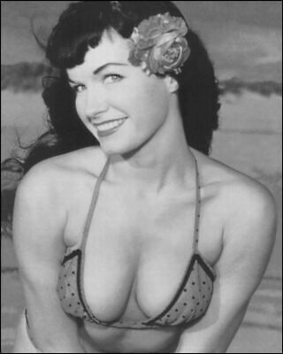 Bettie Page Busty 8x10 Picture Celebrity Print