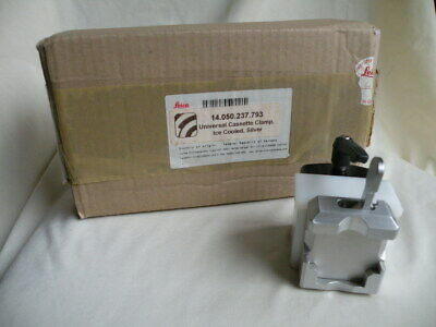 Leica Universal Cassette Clamp Ice Cooled, Silver 14.050.237.793 NIB