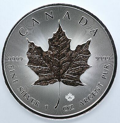 2020 Canada Maple Leaf 1 oz Silver 9999 Argent Pur Coin $5 Canadian JD732