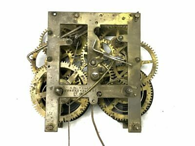 Antique E.N. Welch Small Mechanical Clock Movement for Parts | ref 22937