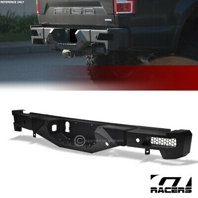 For 2015 2018 Ford F150 Black Rt Style Off Road Modular Full Width Rear Bumper 479 00 Picclick