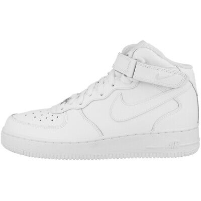 Nike Air Force 1 Rosso Nike Donna Air Force 1 Mid Youth GS Scarpa rosso
