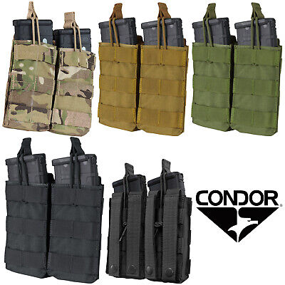 Condor MA19 MOLLE PALS Modular Open Top Bungee Rifle Magazine Pouch - ALL COLORS