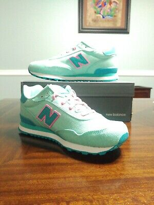 New Balance Kid's 515 Spring Canvas Pack Big Kids Female Shoes Teal