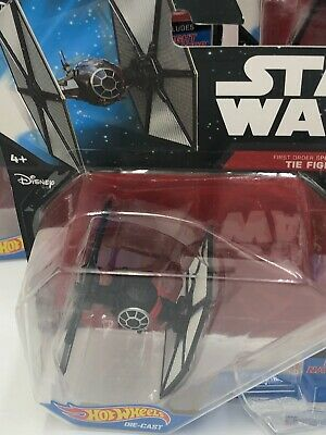 Hot Wheels Star Wars Die-Cast Force Awakens  Starships 1:64 LOT of 5 Mattel 2014