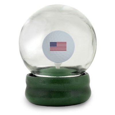 Water Globe Golf Ball On The Tee Challenge Made With Thick High Quality Glass
