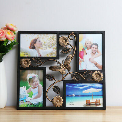 Multi Photo Picture Frame Holds Black Family Photo Picture Wall Photo Frame 6*4