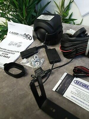Laserline 860ti2 Motorcycle & Scooter & Bike Remote Controlled Alarm insurance