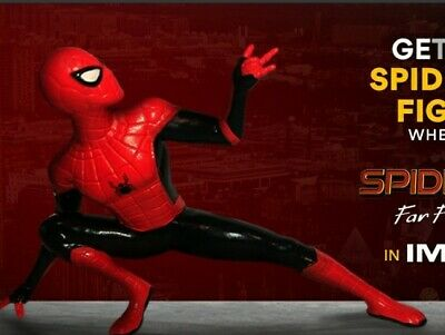 Objet de collection Spiderman Far from Home IMAX AMC PROMO Miniature Figure NEW