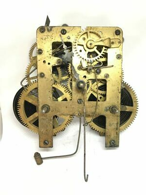 Waterbury 5 3/8PL  Mechanical Chime Clock Movement for Parts | 22942