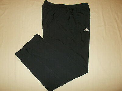 Adidas Climalite Black Mesh Lined Athletic Pants Mens Xl Excellent Condition