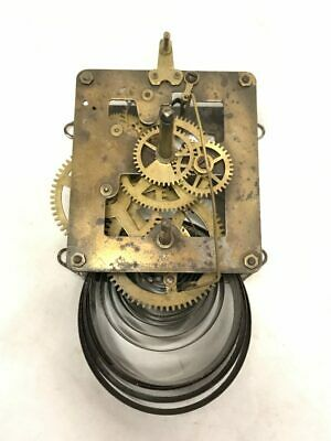 "Waterbury 12""PL Single Spring Mechanical Clock Movement for Parts 