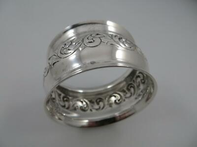 OLD MASTER Towle Sterling Silver Napkin Ring 202
