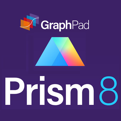 GraphPad Prism 8 for Windows | Lifetime - Instant Delivery