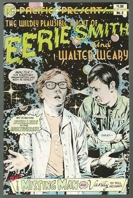 PACIFIC PRESENTS #3 EERIE SMITH and WALTER WEARY; DITKO Missing Man 1994 Meuniot
