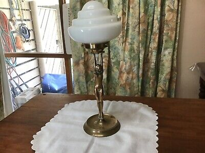 Art Deco Diana lady lamp