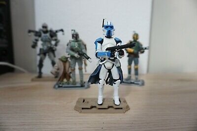Hasbro Star Wars CLONE TROOPER (with Quad Cannon)  Clone Trooper 3.75 Loose Toy
