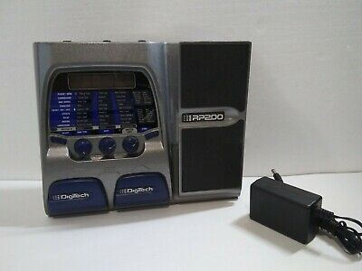DIGITECH RP200 Artist Modeling Guitar Reverb Multi Effects Processor  Foot Pedal