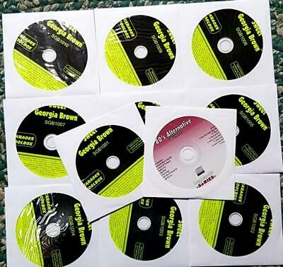 11 Cdg Karaoke Discs February 2020 Special Legends Oldies Pop Rock Cd+G