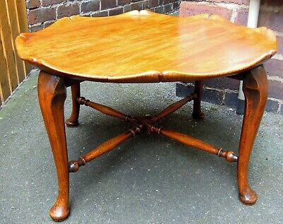 Vintage Solid Elm Occasional Coffee Table
