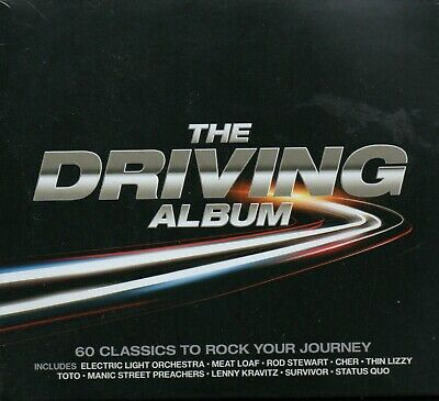 THE DRIVING ALBUM - Various Artists - 3xCD Album *NEW & SEALED*