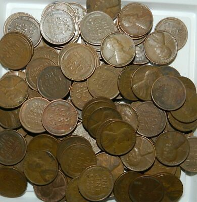 100 (+)  WHEAT PENNIES / LINCOLN CENTS - 1930's