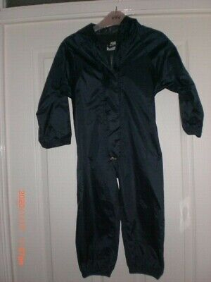 PUDDLE RAIN SUIT WATERPROOF ALL IN ONE CHILDRENS KIDS 2-3yrs BOYS GIRLS